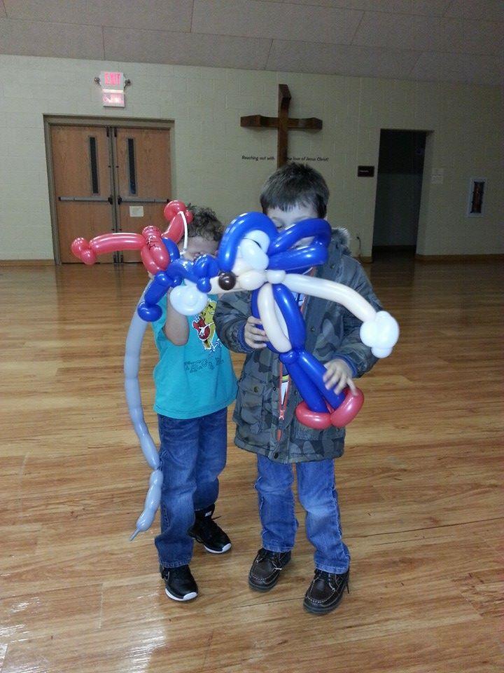 pittsburgh balloon artist weird eric sonic spiderman